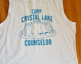 Crystal Lake Counselor Tank Top