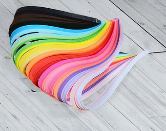 300 Paper quilling strips pack with 30 colors