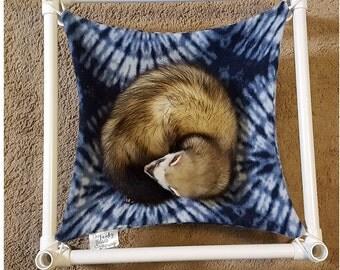 Ferret  Hammock, Ferret Bed, Ferret Furniture, PVC Ferret Bed