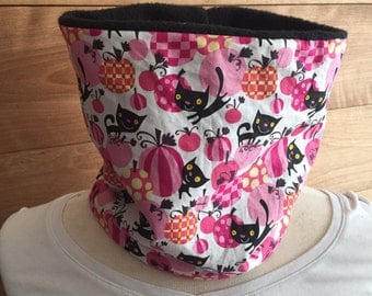 Snood cat pink child 2-4 years