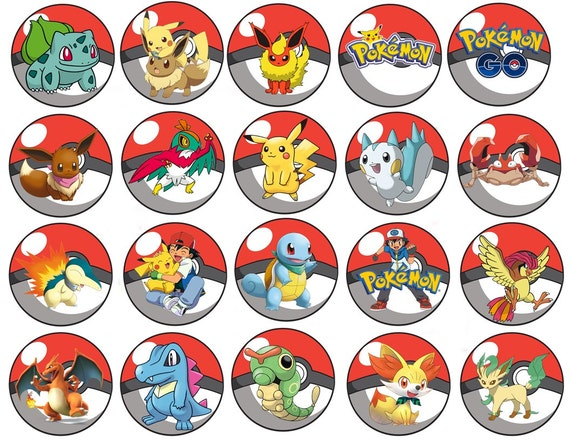 Persnickety image within pokemon cupcake toppers printable