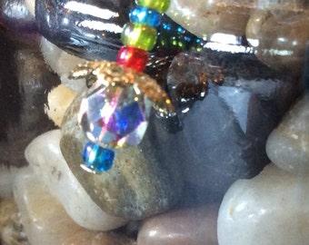 Color splash dangle earings