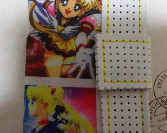 Handmade, iphone5/S/C/SE notebook-case, Sailor Moon