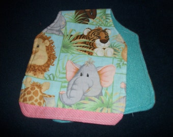 Animal Baby Burping Cloth