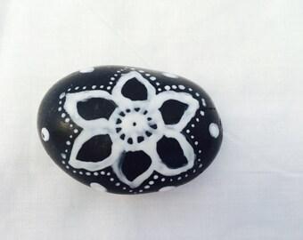 Mandala peace stone