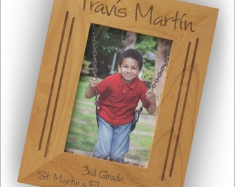 Personalized Natural Wood Frames - 2813_7