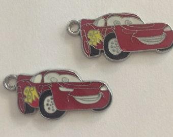 Lightning McQueen Charms