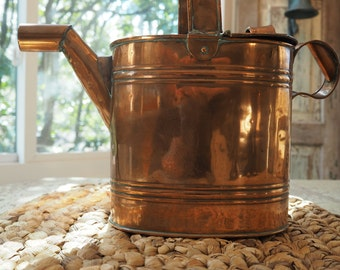 Antique Copper Watering Can