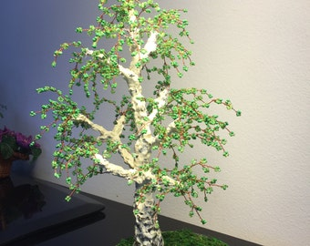 Artificial birch tree