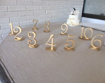 BLUE table numbers Ivory table numbers Glitter numbers wedding DIY table numbers wedding do it your self Champagne table numbers Glitter
