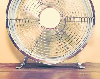 Vintage Fan on Table
