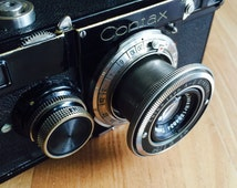 1932-1936 CONTAX camera with Zeiss IKON A-G Dresden Carl Zeiss