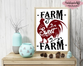 Farm Wall Art farmhouse wall art | etsy