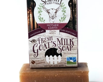 Serenity Acres All Natural Goat's Milk Soap - Mother Earth 4 oz