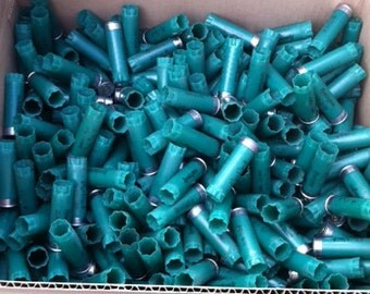 Green 12 gauge Shotgun Hulls 500 count