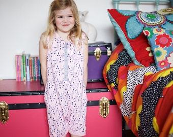 Billy 'Playsuit' - Romper - Kidswear - Children's Wear - Kids Clothes - Girls Clothes - Pink