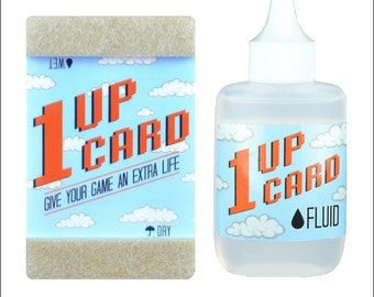 1UP CARD cleaning kit for Nintendo NES SNES N64 Sega Genesis Atari Cartridges