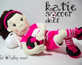 Katie the soccer doll