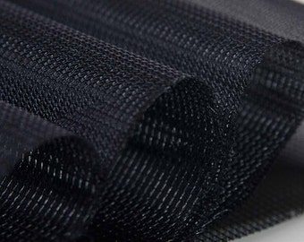 SnapAid - Snap Reinforcement Fabric (Black, sold by the yard)