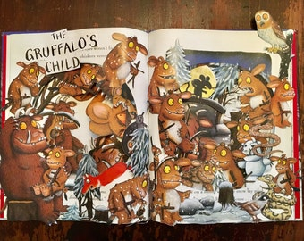 The Gruffalo's Child - Book Sculpture
