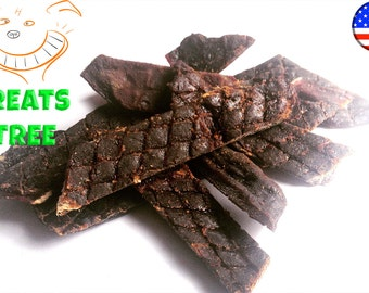 FREE SHIPPING  100% Natural Dog Treats! BEEF Liver Jerky. Tasty, Yummy & healthy.