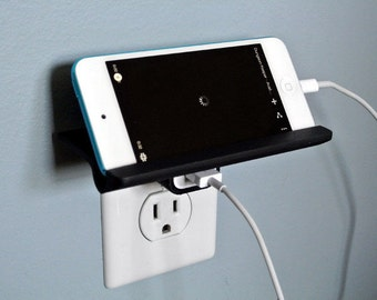 SmartPhone Wall Outlet Portable Shelf