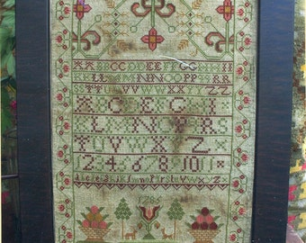 Ann Taylor by Heartstring Samplery Counted Cross Stitch Pattern/Chart