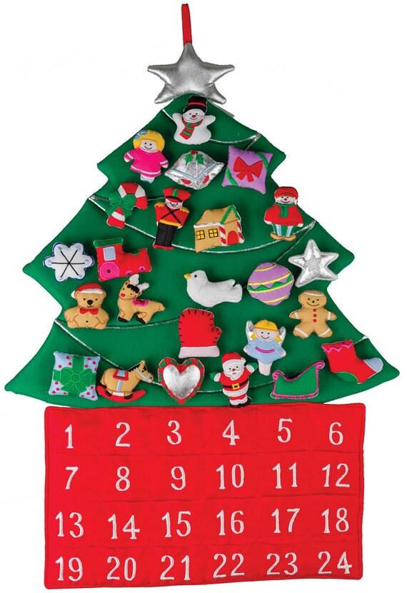 Christmas Tree Fabric Advent Calendar