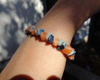 baroque bracelet 3 stones