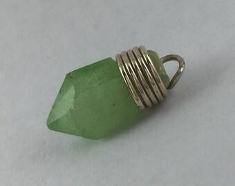 Peridot Crystal Pendant
