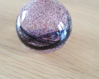 Large Paperweight Made with Your Own Horse Hair or Pet Fur 70mm