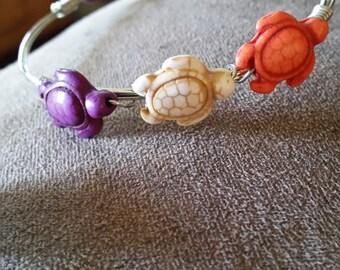 Turtle Wire Bracelete