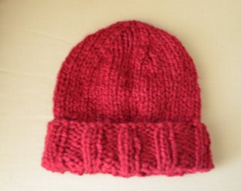 Hand Made Knit Hat