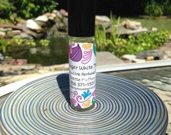 Ginger White Tea Premium Shimmer Perfume Oil