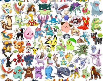 280 Second Generation Pokemon Clipart And Silhouette Pokemon Clipart Pokemon Silhouette Pokemon Go Pokemon Printable Pokemon go clipart