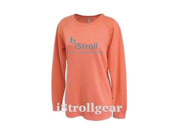 Women's Long Crew Neck Sweatshirt