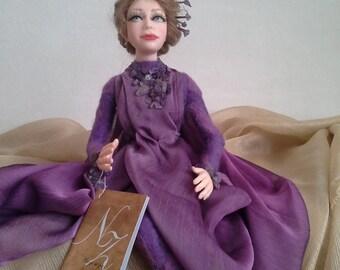 """Art doll inerior doll """"Amethyst"""""""