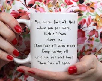 You there mug, Sweary Mug, Funny Gift, Funny Mugs, Funny Mug, Gifts for her, Gifts for Him, Stocking Filler, Stocking Stuffer