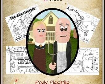 The Worm Farming Coloring & Activity Book - Plus Bonus Features