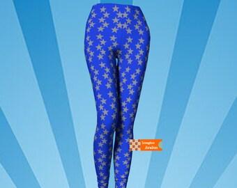 Just like Wonder woman leggings, Star Leggings, plus sizes availalble