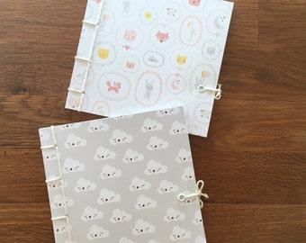 2 children's books, handmade