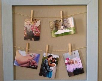 Farmhouse String Photo Frame