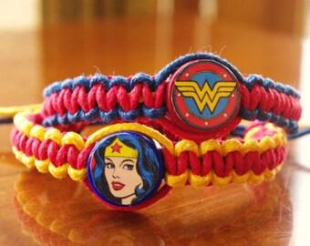 Wonder Woman Inspired Bracelets