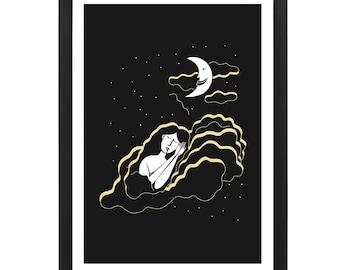 Clouds - Giclee Print