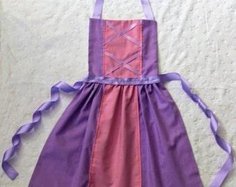 Rapunzel/Tangled Disney Princess Inspired Apron