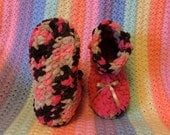 Softest Chenille Crochet Boot Slippers Handmade. Custom made to Order, Any Size, Any Colors. 12 colors available