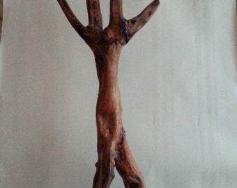 Wooden sculpture  Dancing together