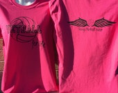 Netball For Life Tee (Pink) (Adult Small)