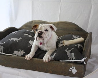 Rustic Dog Bed XL
