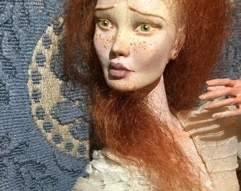 Porcelain art ball jointed doll Elisabetta